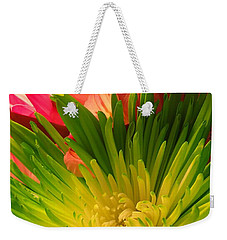 Green Focus Weekender Tote Bag