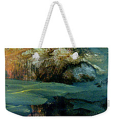 Green Fog Weekender Tote Bag by Nancy Kane Chapman
