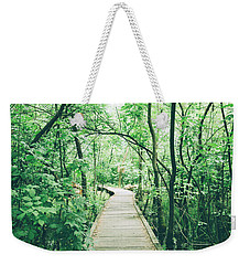 Green Forest Weekender Tote Bag
