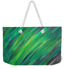 Green Future Painting Weekender Tote Bag