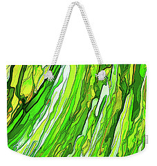 Green Garden Weekender Tote Bag by ABeautifulSky Photography
