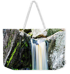 Green Glows On The Falls Weekender Tote Bag