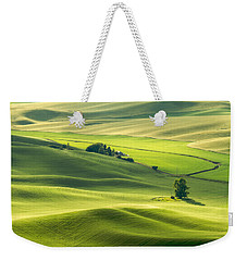 Weekender Tote Bag featuring the photograph Green Green Grass Of Home by Patricia Davidson