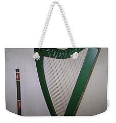 Green Harp Weekender Tote Bag