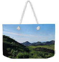 Weekender Tote Bag featuring the photograph Green Hills Landscape by Matt Harang