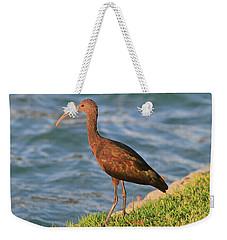 Green Ibis 4 Weekender Tote Bag