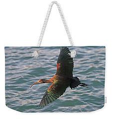 Green Ibis 6 Weekender Tote Bag