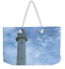 Weekender Tote Bag featuring the photograph Green Island Lighthouse by Brian Eberly