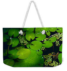 Green Islands Weekender Tote Bag