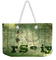Green Knowings Weekender Tote Bag