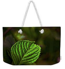 Green Leaf Weekender Tote Bag
