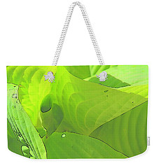 Green Leaves Sketch 2 Weekender Tote Bag