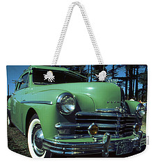 American Limousine 1957 - Historic Car Photo Weekender Tote Bag