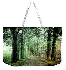 Weekender Tote Bag featuring the photograph Green Magic by Annie Snel