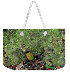 Green Man Spirit Photo Weekender Tote Bag