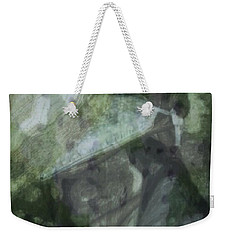 Weekender Tote Bag featuring the photograph Green Mist by Kathie Chicoine