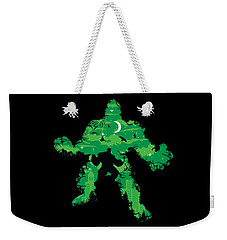 Green Monster Weekender Tote Bag