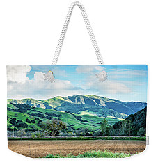 Green Mountains Weekender Tote Bag
