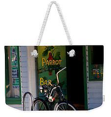 Green Parrot Bar Key West Weekender Tote Bag