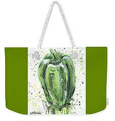 Green Pepper Weekender Tote Bag