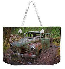 Green Relic Weekender Tote Bag