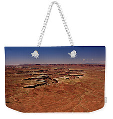 Weekender Tote Bag featuring the photograph Green River Overlook by Brenda Jacobs