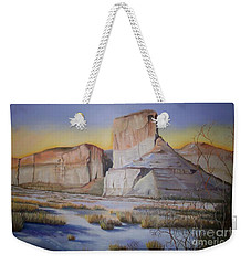 Green River Wyoming Weekender Tote Bag by Marlene Book