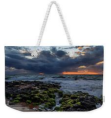 Green Rocks Weekender Tote Bag