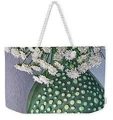 Green Slip Still Weekender Tote Bag