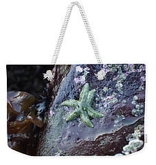 Green Starfish Weekender Tote Bag