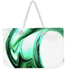 Green Swell Weekender Tote Bag