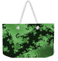 Green Swirl Weekender Tote Bag