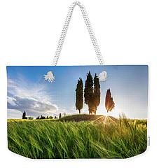 Green Tuscany Weekender Tote Bag