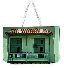Green Walls Weekender Tote Bag