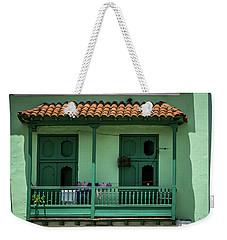 Green Walls Weekender Tote Bag