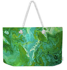 Green Waters Weekender Tote Bag