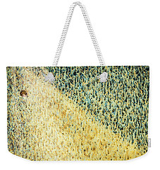 Green/yellow Abstract Two Weekender Tote Bag