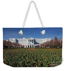 Greenbrier Resort Weekender Tote Bag by Laurinda Bowling
