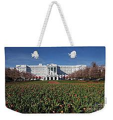 Greenbrier Resort Weekender Tote Bag by Laurinda Bowling