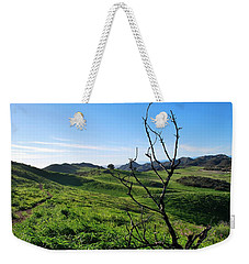 Weekender Tote Bag featuring the photograph Greenery In The Hills Landscape by Matt Harang