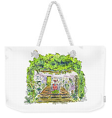 Greenhouse To Volcano Garden Arts Weekender Tote Bag