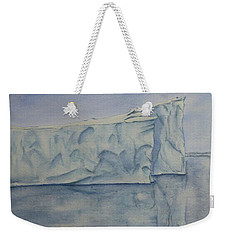 Greenland's Iceberg Weekender Tote Bag
