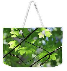 Greenleaves Weekender Tote Bag
