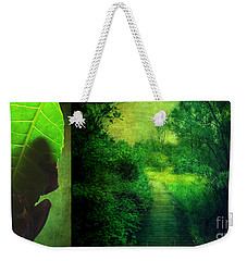 Greens Weekender Tote Bag by Aimelle