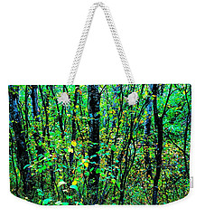 Greens And Some Blies - Fall Weekender Tote Bag