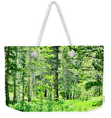 Greens Weekender Tote Bag by Marilyn Diaz