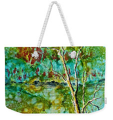 Greens Of Late Summer Weekender Tote Bag
