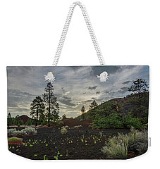 Weekender Tote Bag featuring the photograph Greet The Day by Gaelyn Olmsted