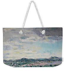 Greeting Santa Fe Weekender Tote Bag