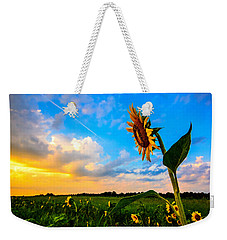 Weekender Tote Bag featuring the photograph Greeting The Dawn  by John Harding